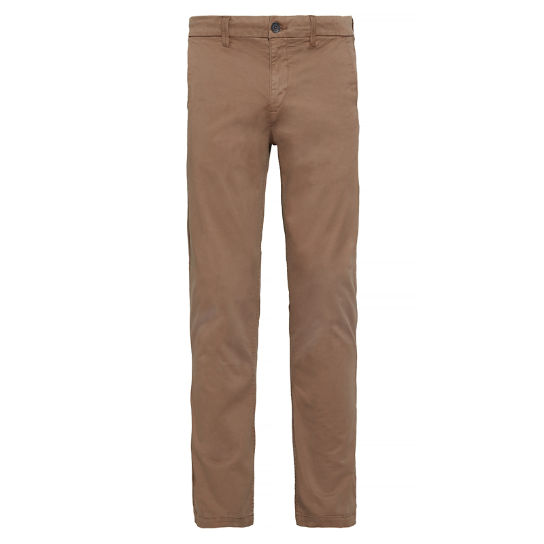 Squam Lake Twill Chinos Donkerbeige Heren | Timberland