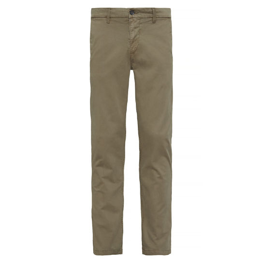 Squam Lake Twill Chinos Verde oliva Uomo | Timberland