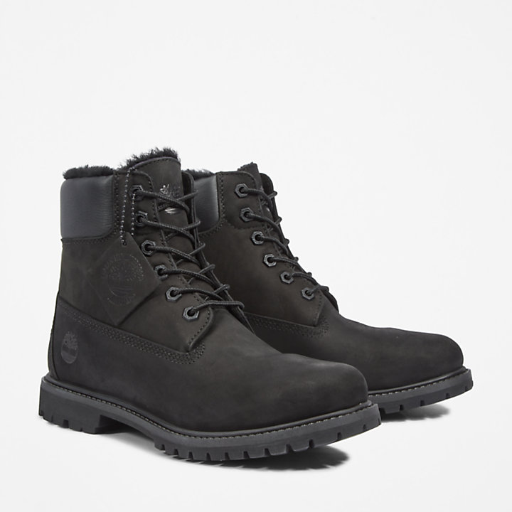 Premium 6 Inch Boot for Women in Black-