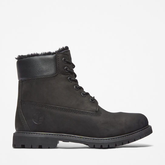 6 Inch Shearling Boot for Women in Black | Timberland