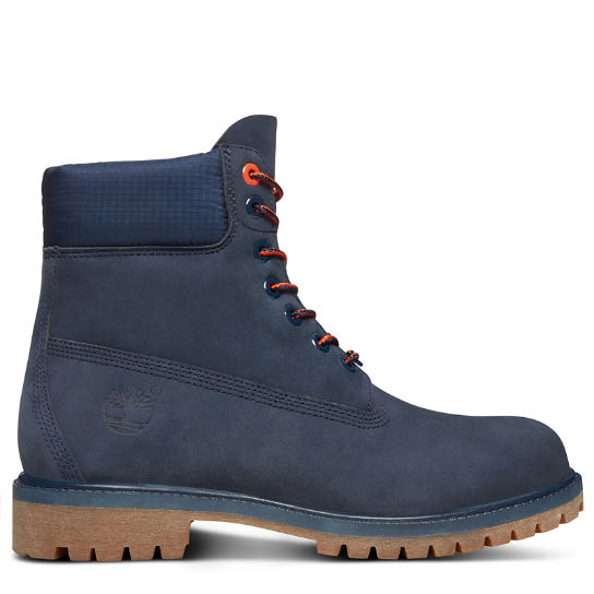 Premium 6 Inch Boot for Men in Navy | Timberland