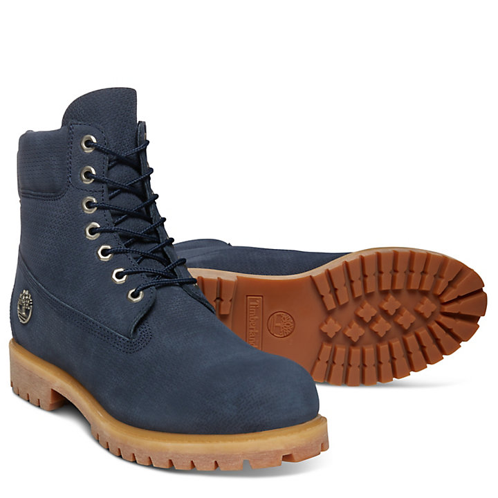 Premium 6 Inch Boot for Men in Navy-