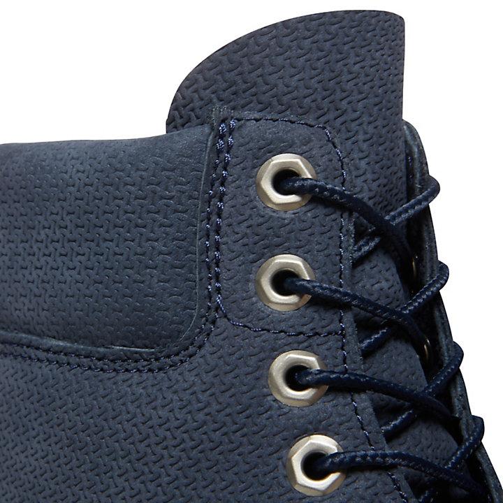 Bota 6 Inch Premium para Hombre en Azul Marino-