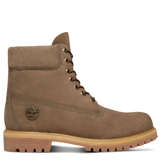 Bota 6 Inch Premium para Hombre en Beis Grisáceo | Timberland