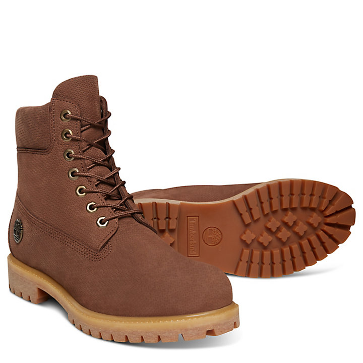 Premium 6 Inch Boot for Men in Light Brown-