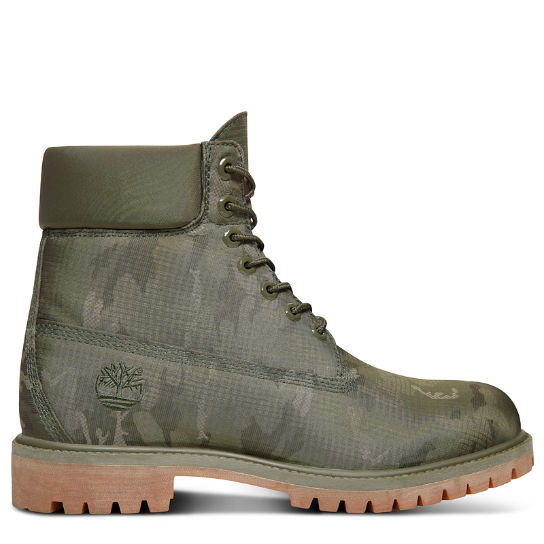 Fabric 6 Inch Boot for Men in Camouflage | Timberland