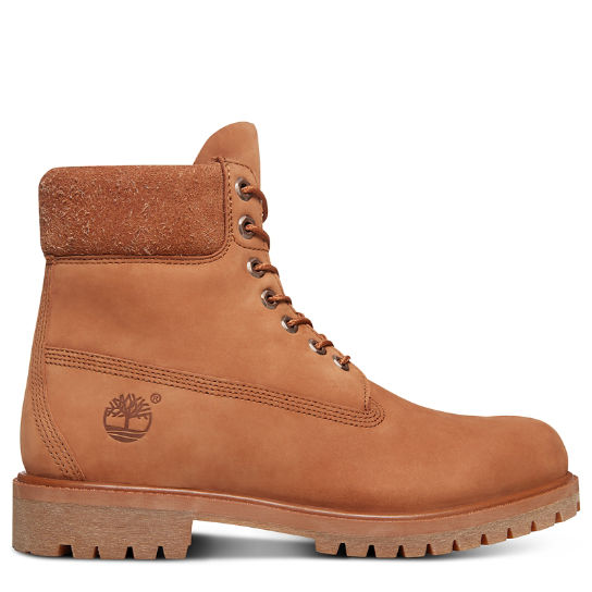 Premium Hairy Suede 6 Inch Boot for Men in Brown | Timberland