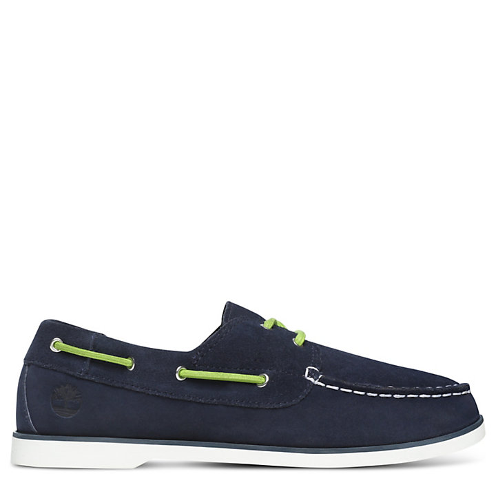 Seabury Boat Shoes for Junior in Navy-