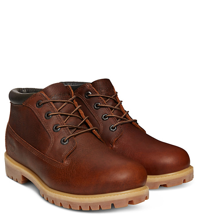 45th Anniversary Chukka for Men in Brown-