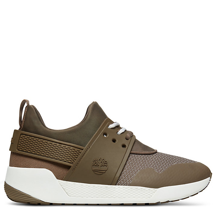 Kiri Up Strick-Sneaker für Damen in Braun-