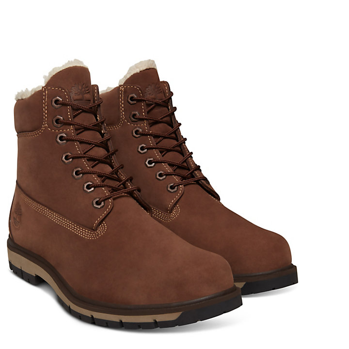 Extra warme Radford Herrenstiefel in Braun-