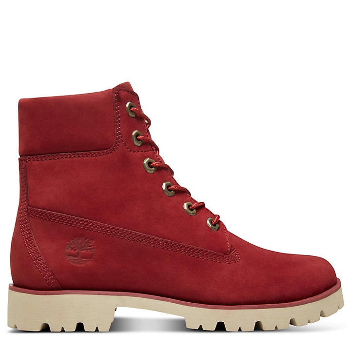 Heritage Lite 6 Inch Boot for Women in Red-