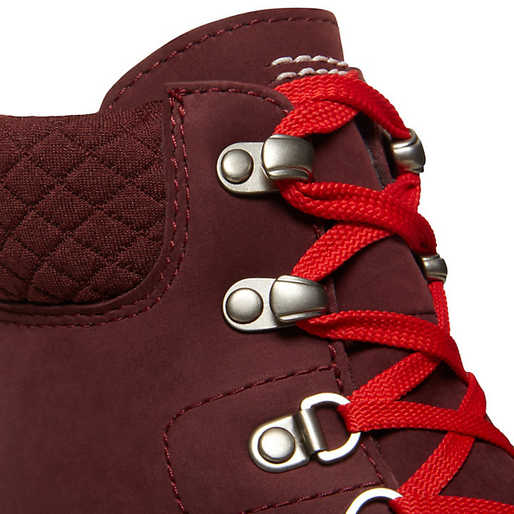 Radford 6 Inch D Ring Boot for Men in Burgundy | Timberland