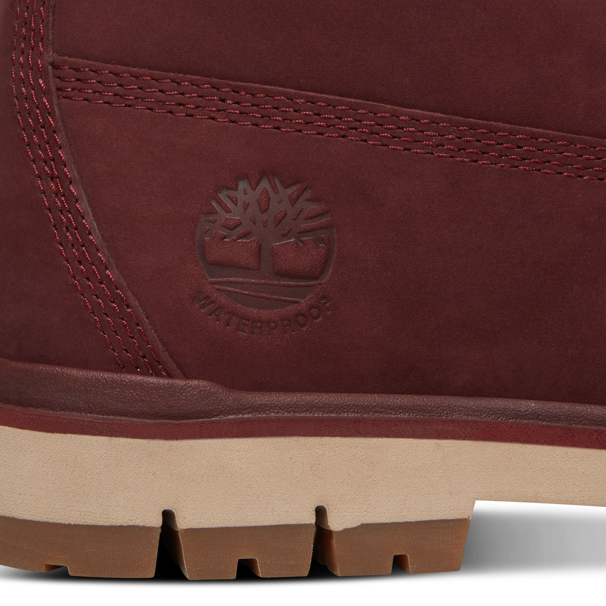 Timberland Radford 6 Inch D Ring Boot for Men in Burgundy at