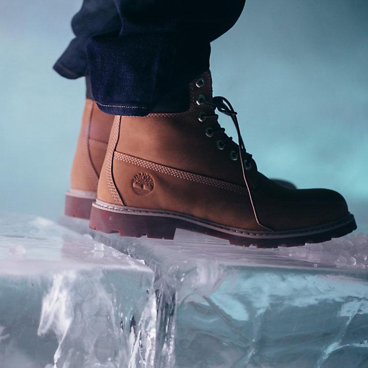 Premium Arctic Grip 6-Inch-Herrenstiefel in Gelb-