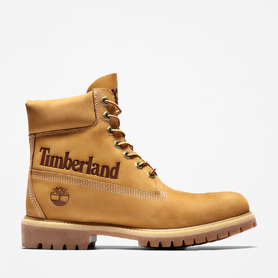 Premium Logo 6 Inch Boot for Men in Yellow | Timberland
