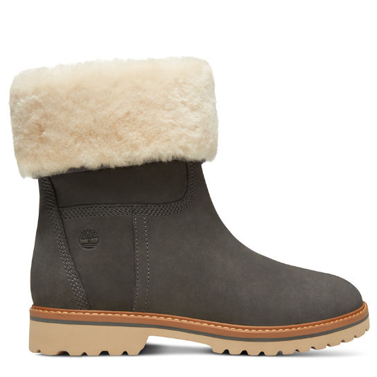 Botte Chamonix Valley Shearling pour femme en gris | Timberland