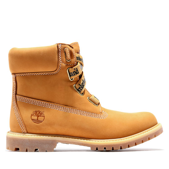 Premium 6 Inch Pull-On Boot for Women in Yellow | Timberland
