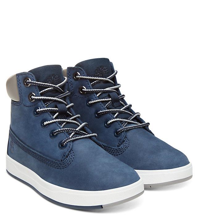 Davis Square High-Top Sneaker for Toddler in Navy-