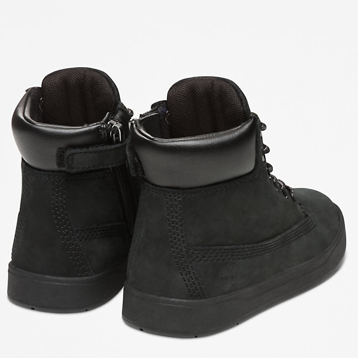 Davis Square High-Top Sneaker for Toddler in Black-