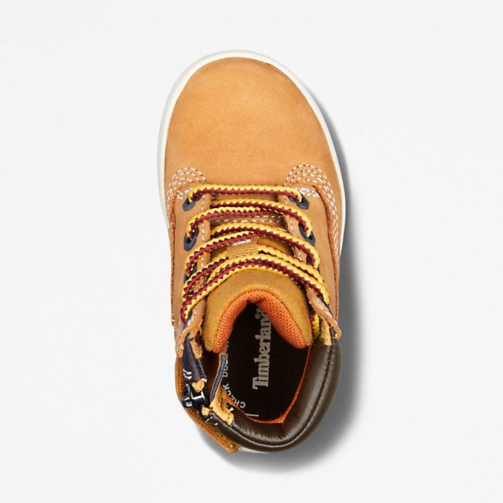 Davis Square High-Top Sneaker voor peuters in geel-
