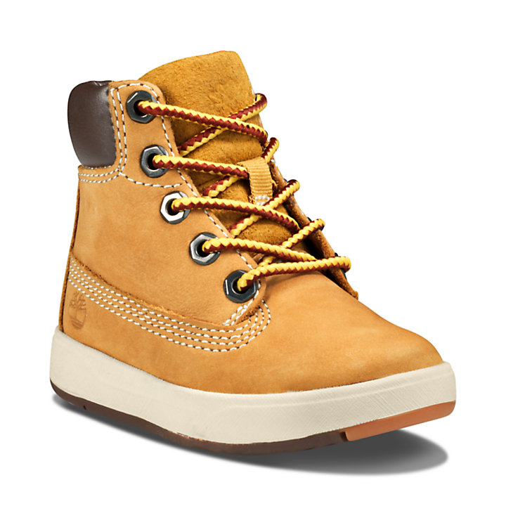 Davis Square High-Top Sneaker for Toddler in Yellow-