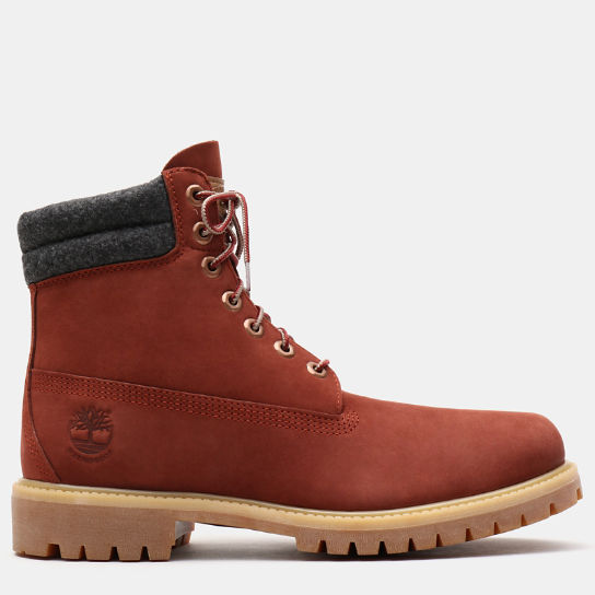 Bottine 6-Inch double col pour homme en rouge | Timberland