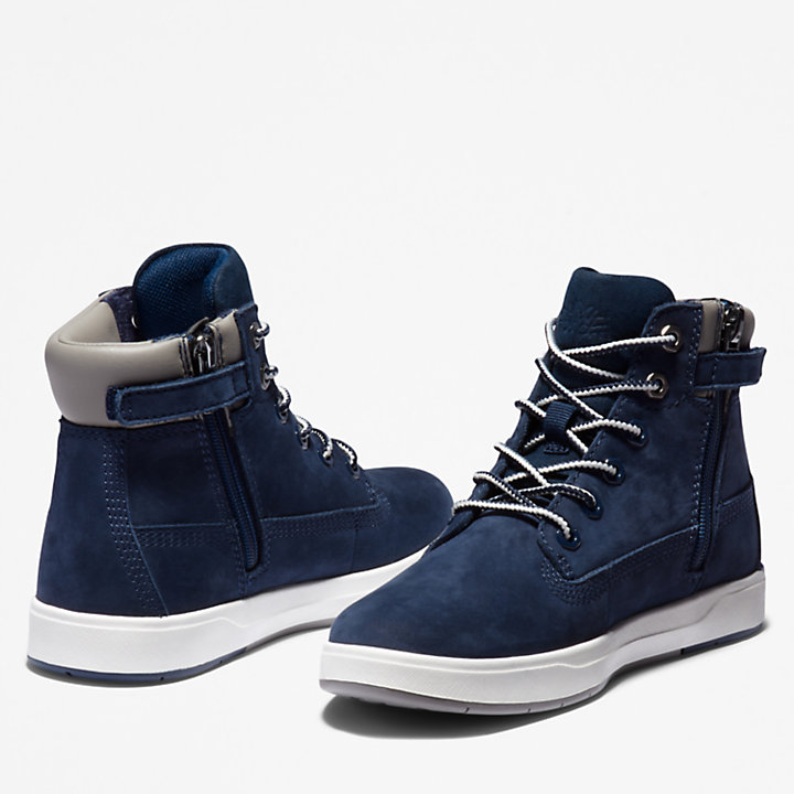 Davis Square 6 Inch Boot voor kids in marineblauw-