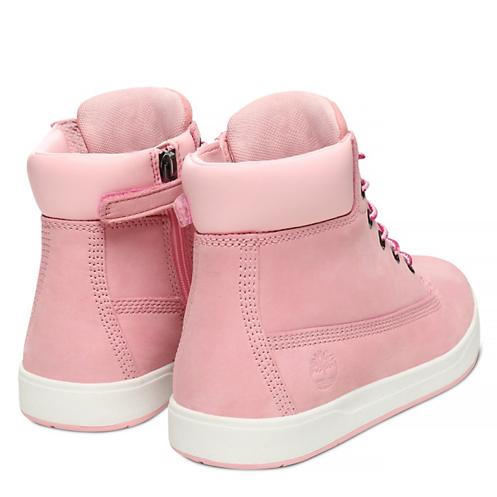 Davis Square 6-Inch Boot Juniors in Roze-