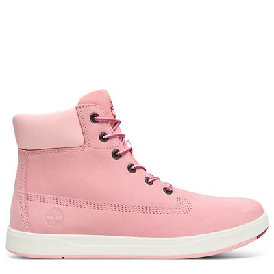 Davis+Square+6+Inch+Boot+for+Juniors+in+Pink