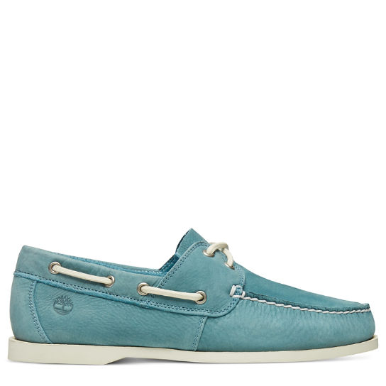 Cedar Bay Boat Shoe for Men in Turquoise | Timberland