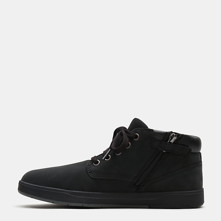 Chukka Davis Square junior en noir-
