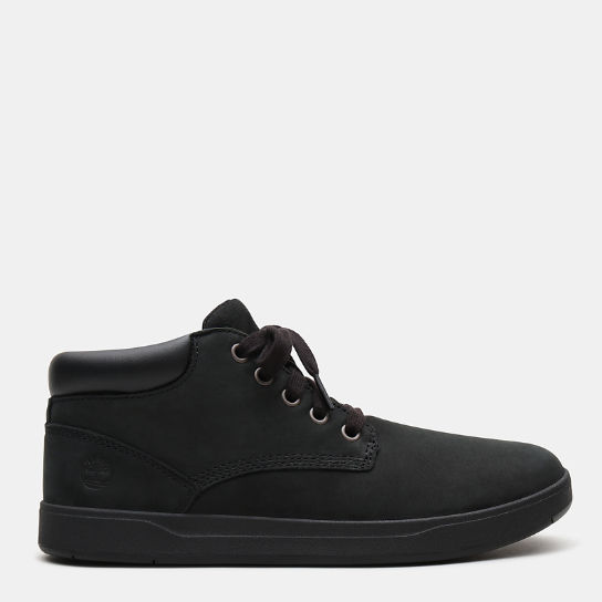 Davis Square Chukka for Junior in Black | Timberland