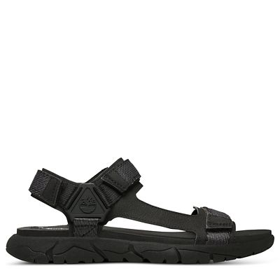 989b9b9b8af1d Windham Trail Sandal for Men in Black | Timberland