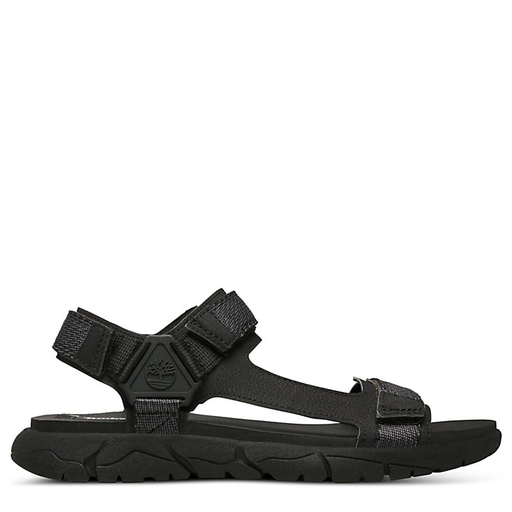 Windham Trail Sandal for Men in Black-