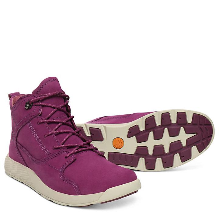 Flyroam™ High Top Sneaker for Juniors in Purple-