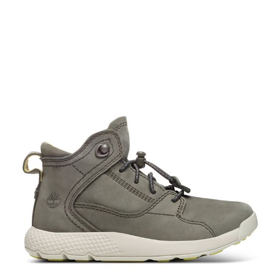 Flyroam™ High Top Sneaker for Toddlers in Dark Green | Timberland