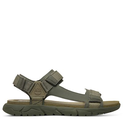 Windham+Trail+Sandal+for+Men+in+Dark+Green