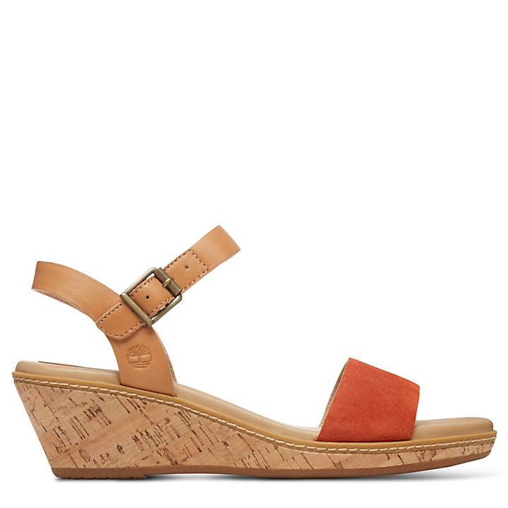 Whittier Sandals for Women in NaturalRed