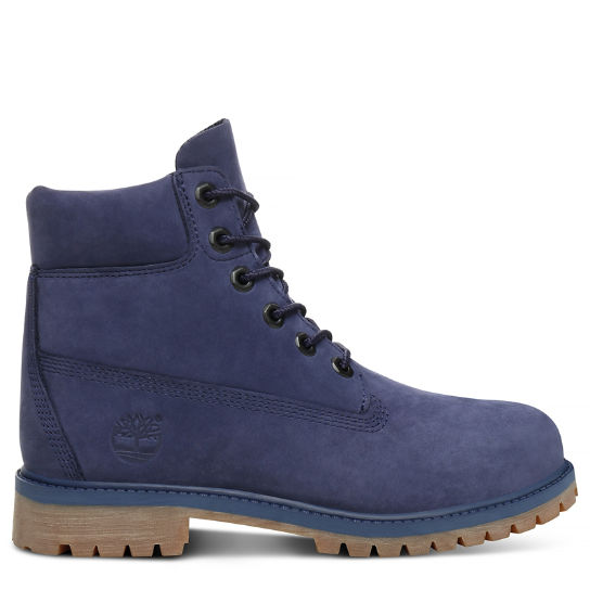 Premium 6 Inch Boot for Juniors in Blue | Timberland