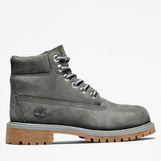 Premium 6 Inch Boot for Juniors in Dark Grey | Timberland