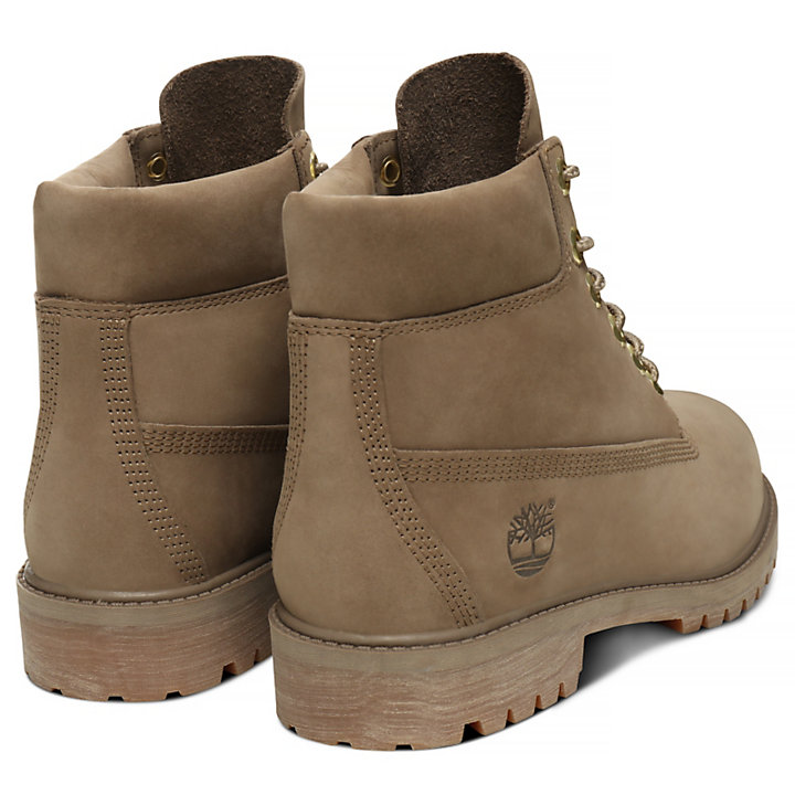 Premium 6 Inch Boot voor Juniors in donkerbeige-