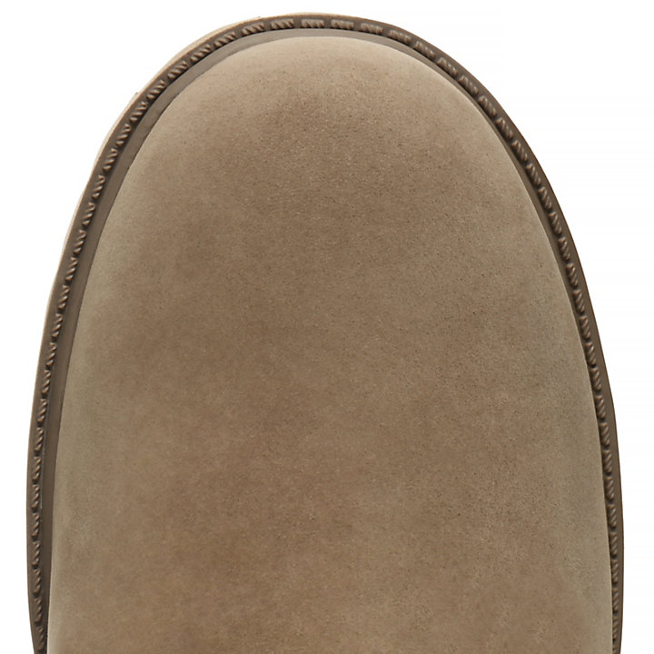 Premium 6 Inch Boot for Junior in Dark Beige-