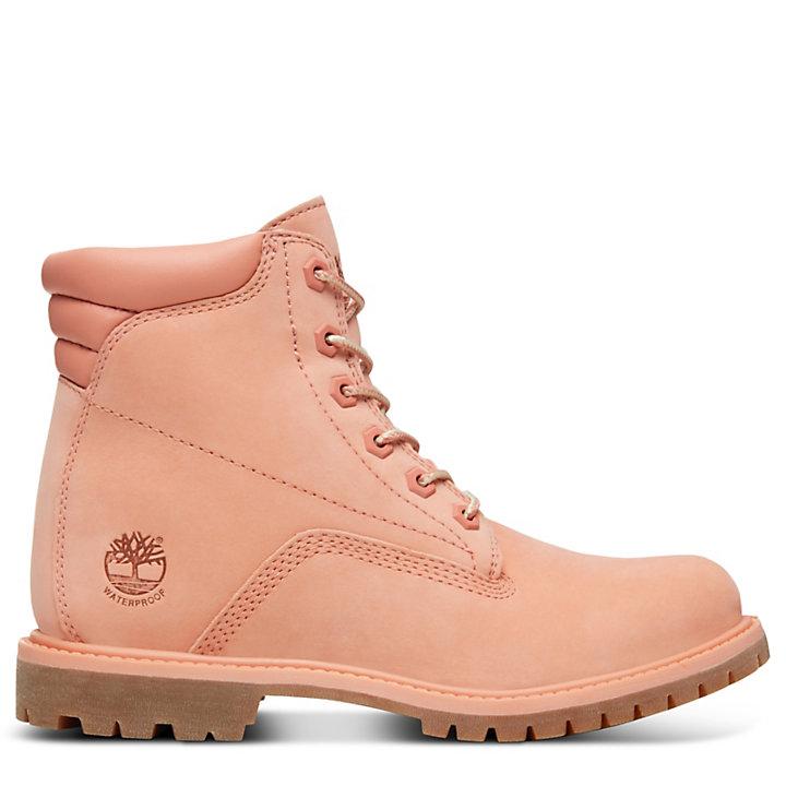Waterville 6-Inch Stiefel für Damen in Pfirsichfarben-