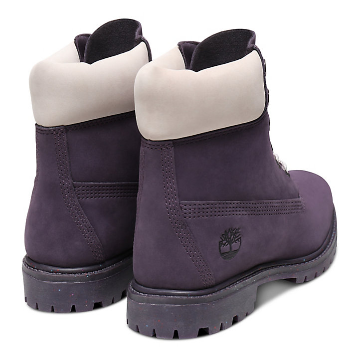 Ice Cream 6 Inch Premium Boot for Women in Purple-