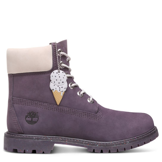 Ice Cream 6 Inch Premium Boot for Women in Purple | Timberland