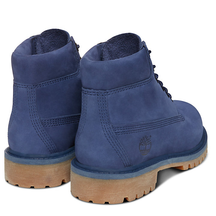 Premium 6 Inch Boot for Youths in Blue-