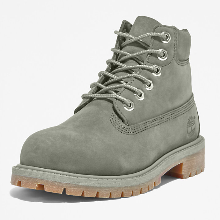 Timberland® Premium 6 Inch Boot for Youth in Grey-