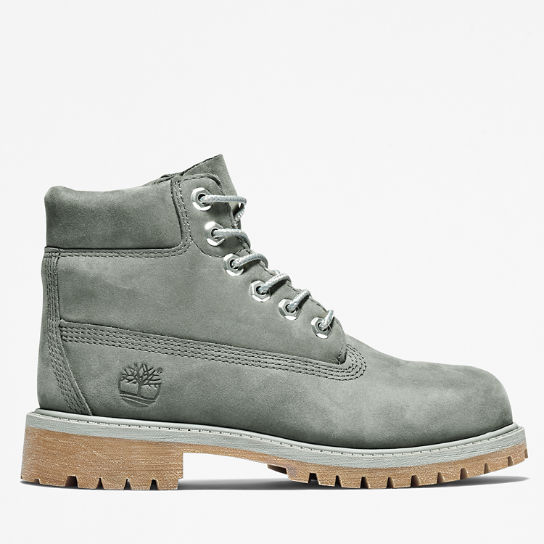6 Inch Premium Boot for Youth in Dark Grey | Timberland