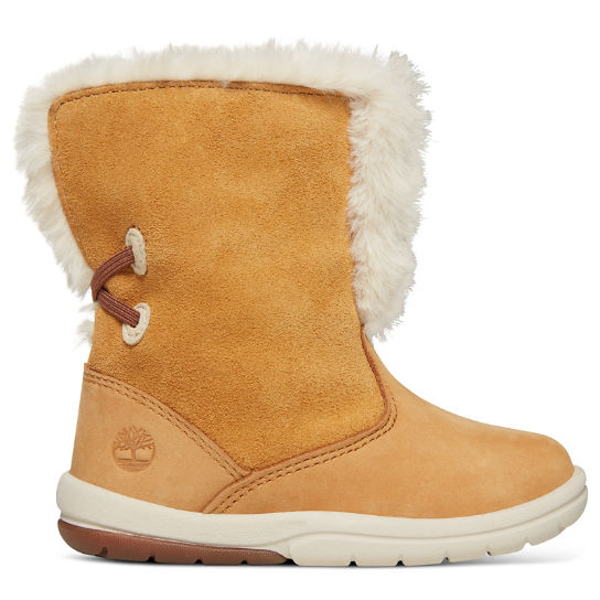 Toddle Tracks Bootie for Toddler in Yellow | Timberland